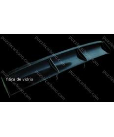 Alerón trasero fibra de vidrio