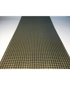 Plancha de Kevlar-Carbono (1000mm x 1000mm) - 2mm de espesor