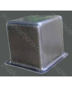 Caja para la batería carbono