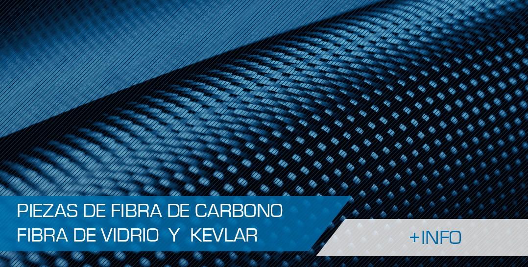 Piezas de fibra de carbono, vidrio y kevlar para coches de rallye
